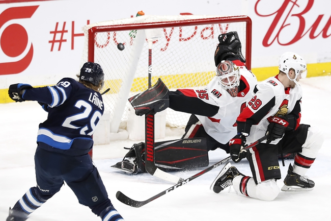 Ottawa Senators vs. Winnipeg Jets - 2/20/20 NHL Pick, Odds, and Prediction