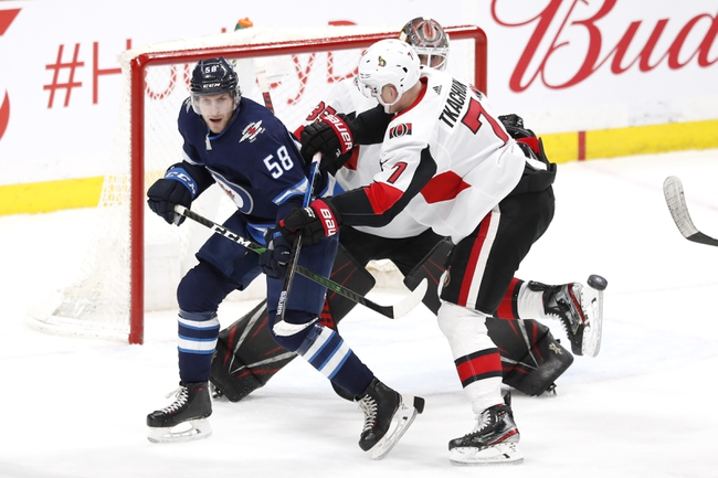 Ottawa Senators vs. Winnipeg Jets - 2/20/20 NHL Pick, Odds & Prediction