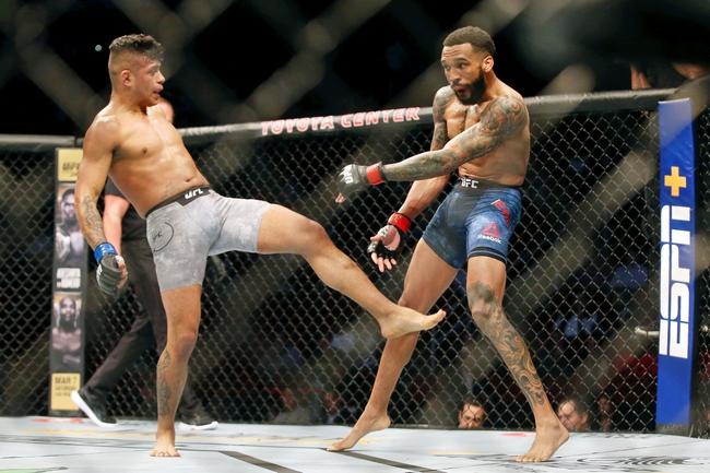 UFC Fight Night 180: Thomas Almeida vs. Jonathan Martinez Picks and  Predictions