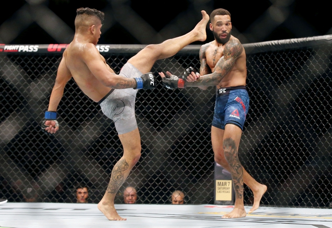 Jonathan Martinez vs. Frankie Saenz - 8/1/20 UFC Fight Night 173 Pick, Odds, and Prediction