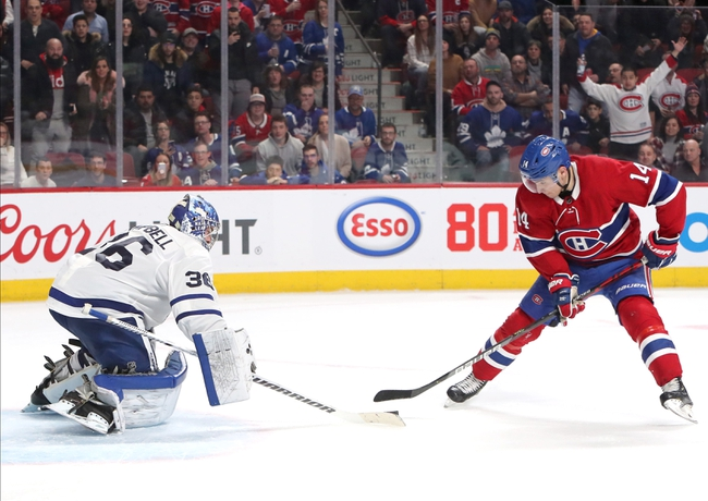 Montreal Canadiens vs. Toronto Maple Leafs - 7/28/20 NHL Pick, Odds, and Prediction