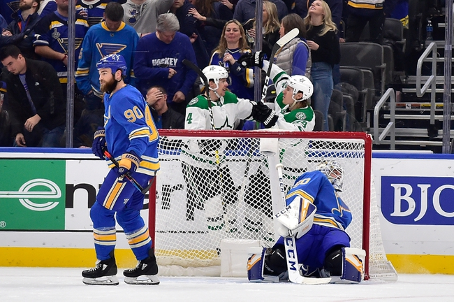 Dallas Stars vs. St. Louis Blues - 2/21/20 NHL Pick, Odds, and Prediction