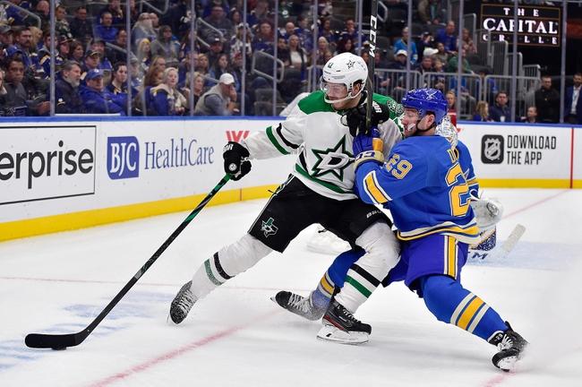 Dallas Stars vs. St. Louis Blues - 2/21/20 NHL Pick, Odds & Prediction