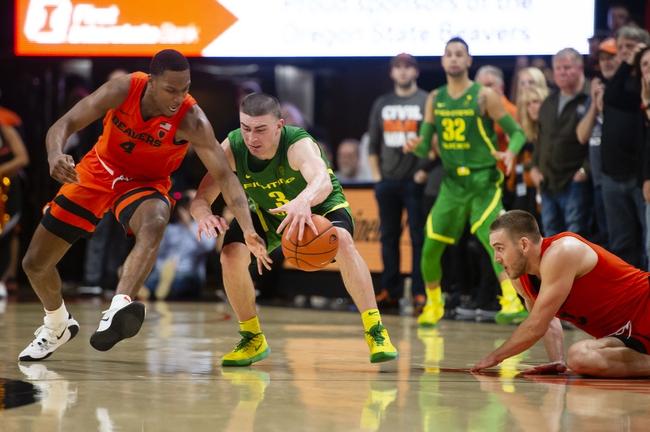 Oregon vs. Oregon State - 2/27/20 College Basketball Pick, Odds, and Prediction
