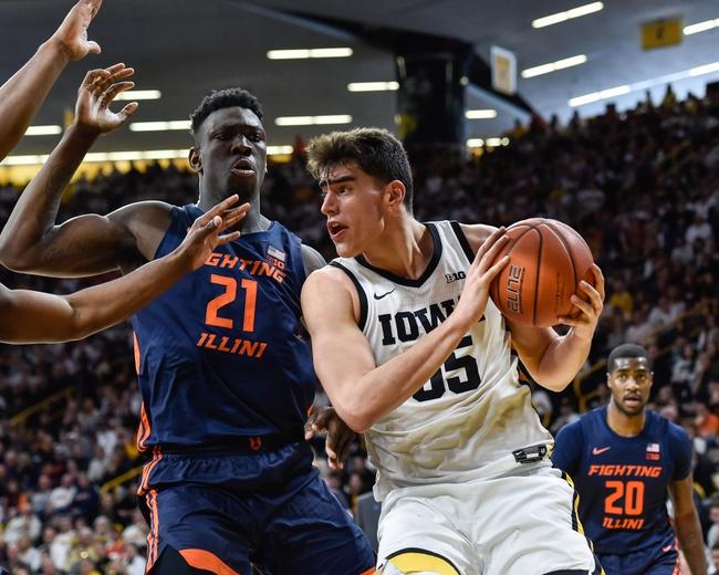 Illinois vs. Iowa - 3/8/20 College Basketball Pick, Odds, and Prediction