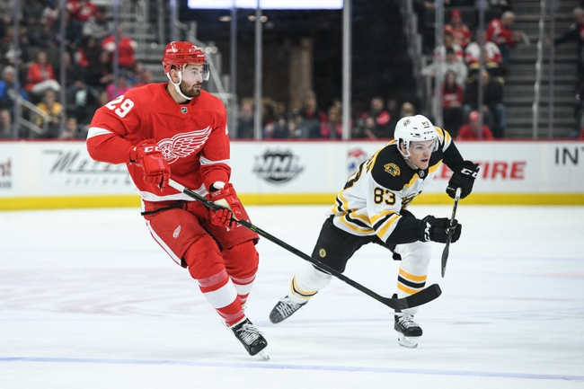 Boston Bruins vs. Detroit Red Wings - 2/15/20 NHL Pick, Odds, and Prediction