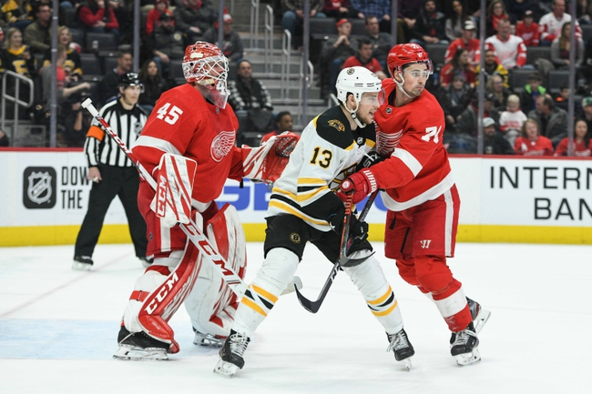 Boston Bruins vs. Detroit Red Wings - 2/15/20 NHL Pick, Odds & Prediction