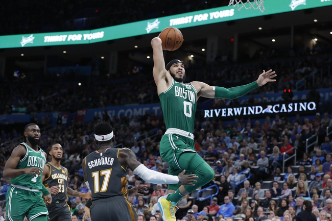 Boston Celtics vs. Oklahoma City Thunder - 3/8/20 NBA Pick, Odds, and Prediction