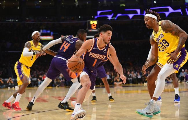 Phoenix Suns vs. Los Angeles Lakers NBA Picks, Odds, Predictions 12/16/20