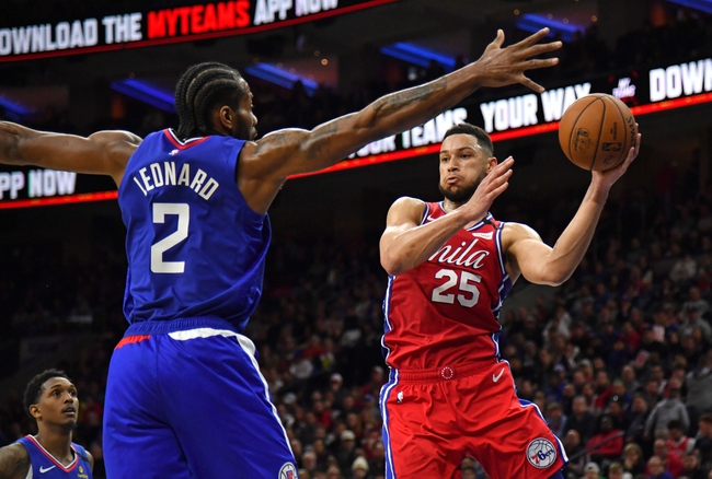 Los Angeles Clippers vs. Philadelphia 76ers - 3/1/20 NBA Pick, Odds, and Prediction