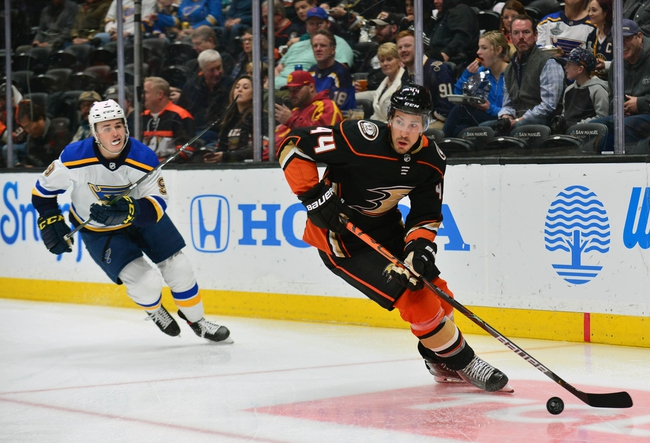 St. Louis Blues at Anaheim Ducks - 3/11/20 NHL Picks and Prediction