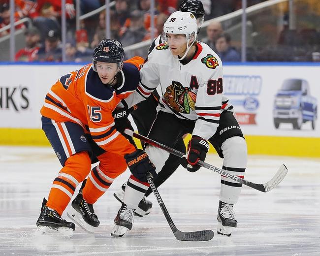 Chicago Blackhawks vs. Edmonton Oilers - 3/5/20 NHL Pick, Odds, and Prediction