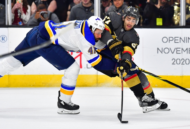 St. Louis Blues vs. Vegas Golden Knights - 8/6/20 NHL Pick, Odds, and Prediction