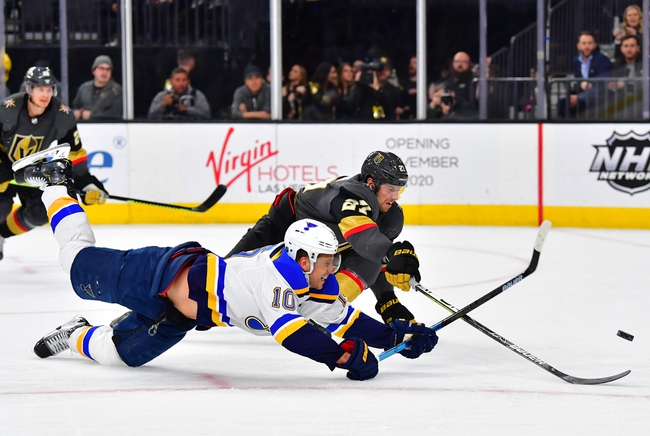Vegas Golden Knights at St. Louis Blues - 8/6/20 NHL Picks and Prediction