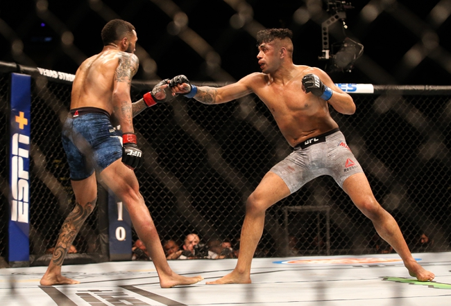UFC Fight Night 180: Martinez vs. Almeida Picks, Odds, and Predictions