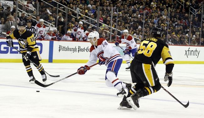 Montreal Canadiens at Pittsburgh Penguins - 8/3/20 NHL Picks and Prediction