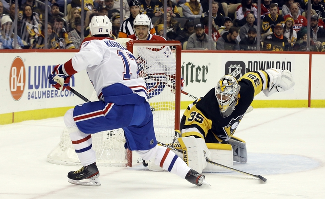 Pittsburgh Penguins vs. Montreal Canadiens - NHL Playoff Series Pick, Odds, and Prediction