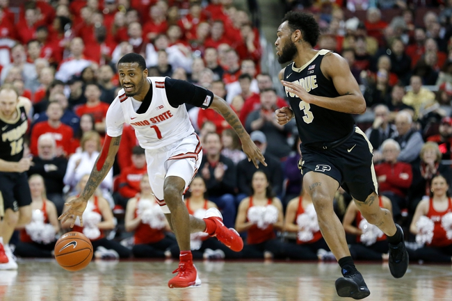 Purdue at Ohio State  - 3/12/20 College Basketball Picks and Prediction