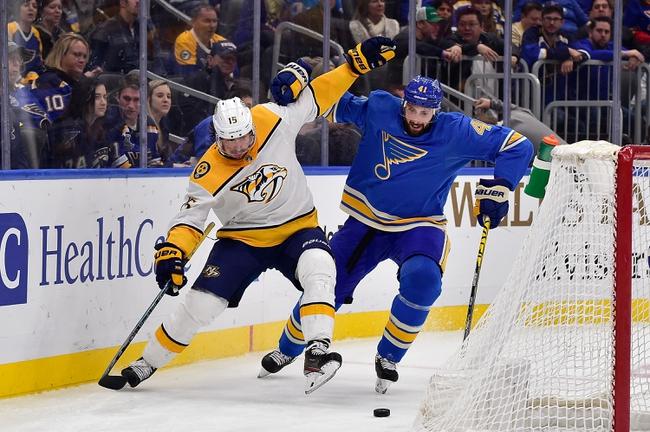 Nashville Predators vs. St. Louis Blues - 2/16/20 NHL Pick, Odds, and Prediction