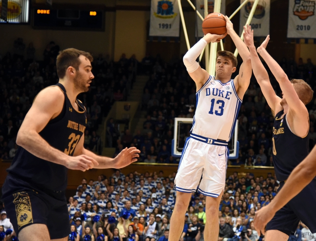 Notre Dame vs Duke College Basketball Picks, Odds, Predictions 12/16/20