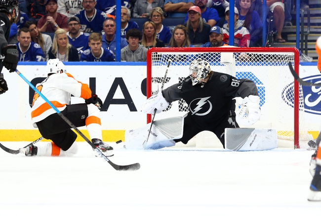 Philadelphia Flyers at Tampa Bay Lightning - 3/12/20 NHL Picks and Prediction