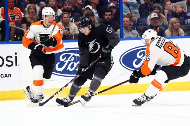 Tampa Bay Lightning vs. Philadelphia Flyers - 8/8/20 NHL Pick, Odds, and Prediction