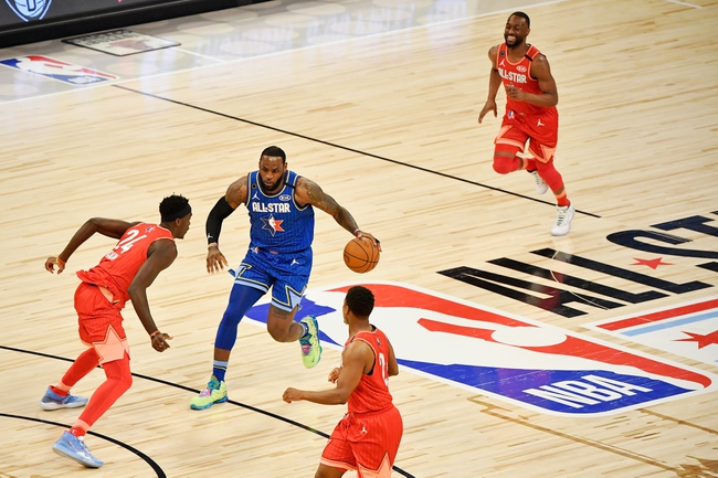 Team Giannis vs. Team LeBron - 5/24/20 NBA2K NBA Sim Pick, Odds, and Prediction