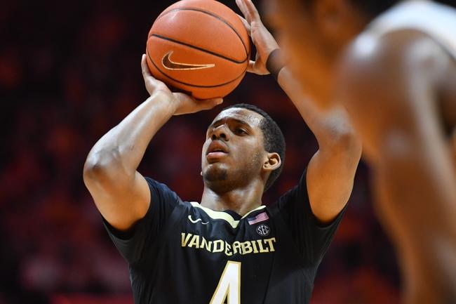 Vanderbilt vs. Georgia - 2/22/20 College Basketball Pick, Odds, and Prediction