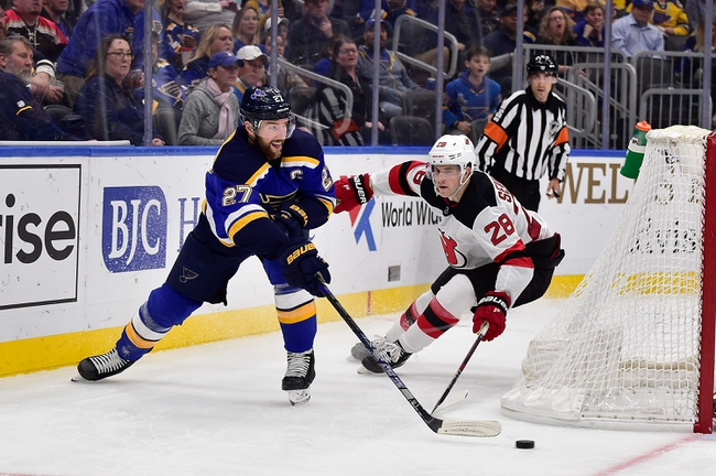 New Jersey Devils vs. St. Louis Blues - 3/6/20 NHL Pick, Odds, and Prediction