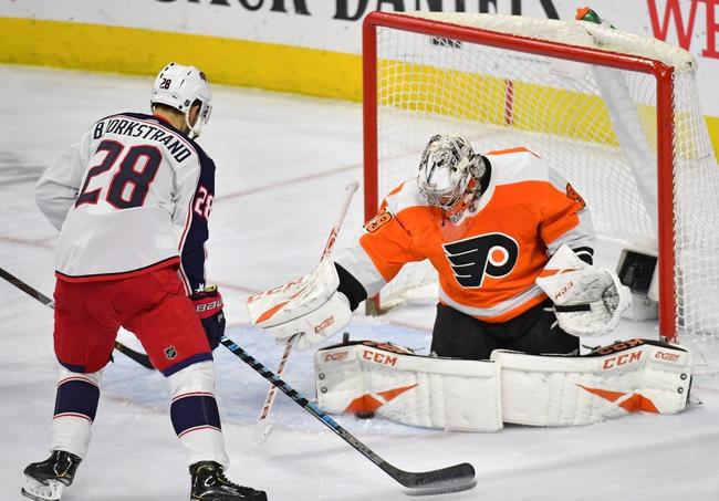 Columbus Blue Jackets vs. Philadelphia Flyers - 2/20/20 NHL Pick, Odds, and Prediction