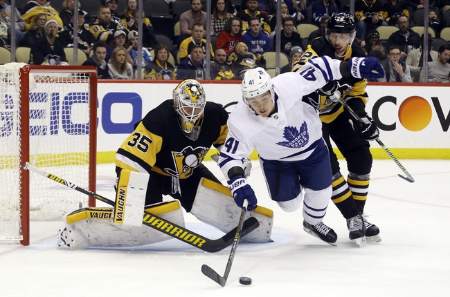 Toronto Maple Leafs vs. Pittsburgh Penguins - 2/20/20 NHL Pick, Odds & Prediction