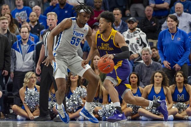 East Carolina  at Memphis  - 3/12/20 College Basketball Picks and Prediction