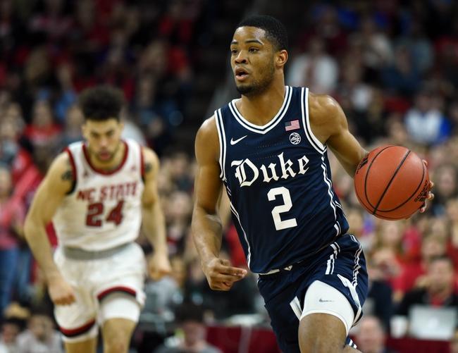 Duke vs. North Carolina State - 3/2/20 College Basketball Pick, Odds, and Prediction