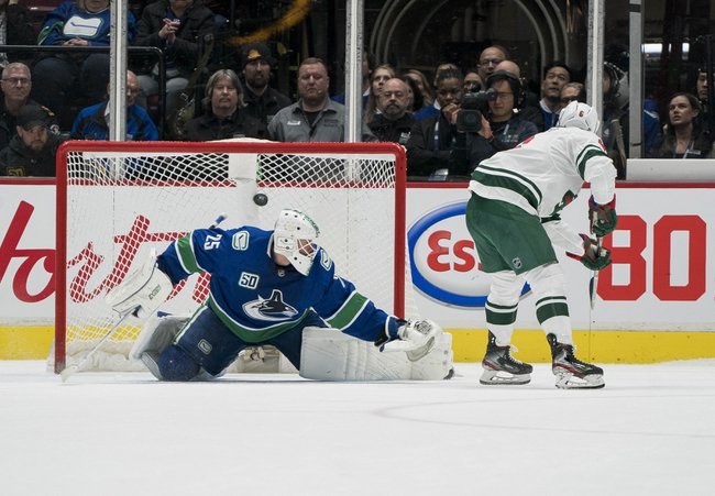 Minnesota Wild at Vancouver Canucks - 8/4/20 NHL Picks and Prediction