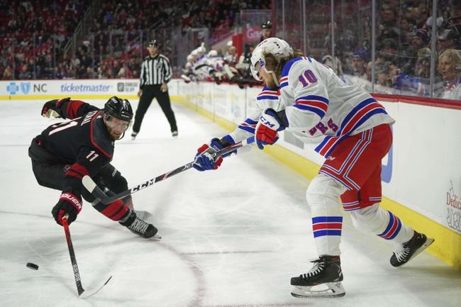 Carolina Hurricanes vs. New York Rangers - 8/3/20 NHL Pick, Odds, and Prediction