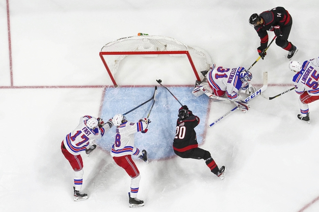 Carolina Hurricanes vs. New York Rangers - 8/1/20 NHL Pick, Odds, and Prediction