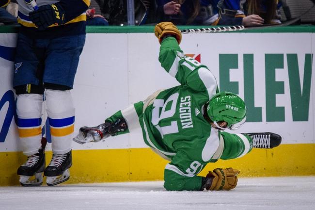 Dallas Stars at St. Louis Blues - 8/9/20 NHL Picks and Prediction