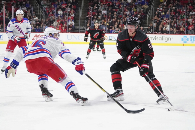 Carolina Hurricanes vs. New York Rangers - 2020 NHL Playoff Series Picks and Predictions