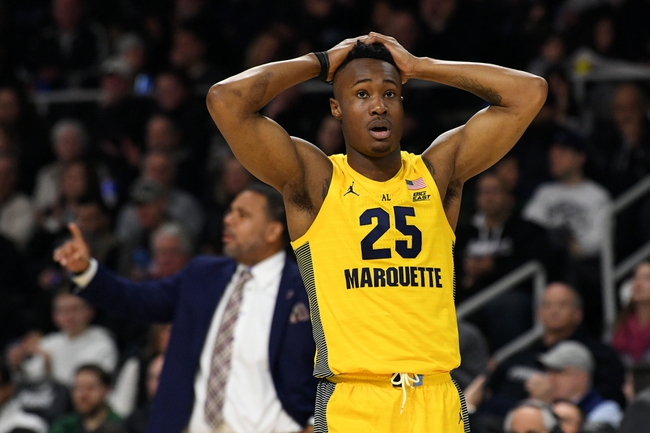 Marquette vs. Georgetown University - 2/26/20 College Basketball Pick, Odds, and Prediction