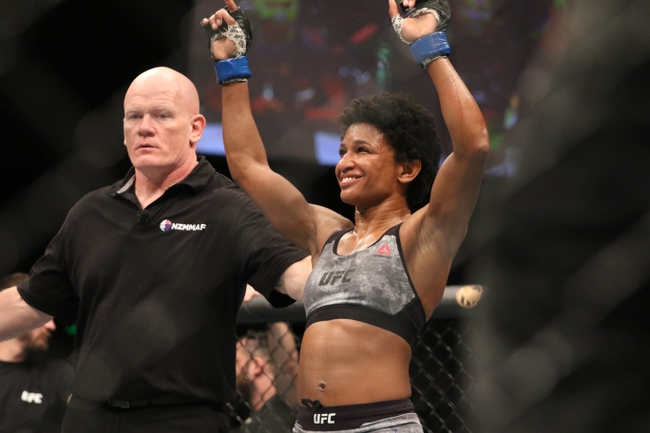 Angela Hill vs. Claudia Gadelha - 5/16/20 UFC on ESPN 10 Pick, Odds, and Prediction