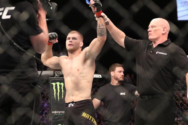 UFC 253: Jake Matthews vs. Diego Sanchez - Pick, Odds, and Prediction