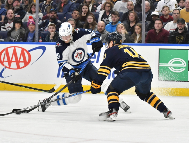 Winnipeg Jets vs. Buffalo Sabres - 3/3/20 NHL Pick, Odds, and Prediction