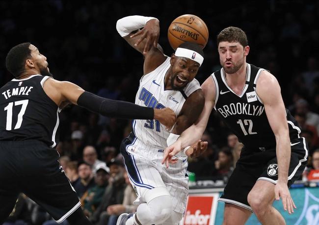 Orlando Magic at Brooklyn Nets - 7/31/20 NBA Picks and Prediction