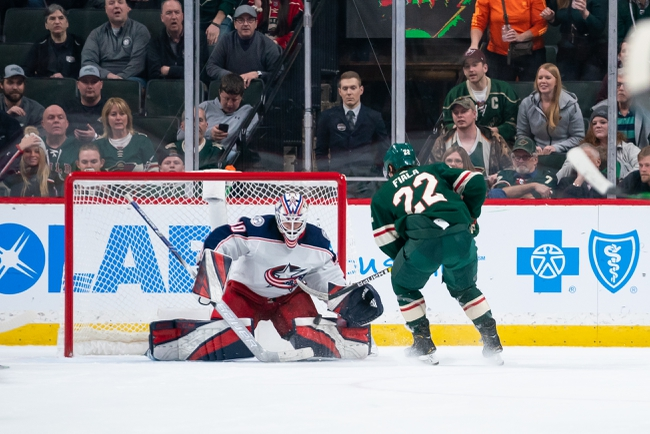 Columbus Blue Jackets vs. Minnesota Wild - 2/28/20 NHL Pick, Odds, and Prediction
