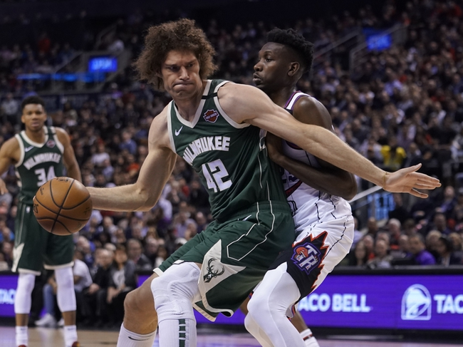 Milwaukee Bucks vs. Toronto Raptors - 8/10/20 NBA Pick, Odds, and Prediction