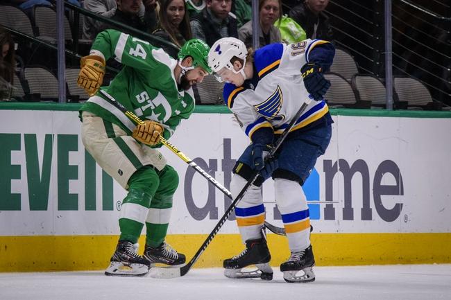 St. Louis Blues vs. Dallas Stars - 2/29/20 NHL Pick, Odds, and Prediction