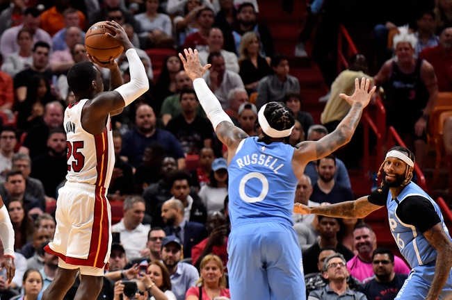 Miami Heat vs. Minnesota Timberwolves - 4/14/20 NBA2K19 NBA Sim Pick, Odds, and Prediction