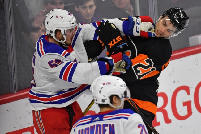 New York Rangers vs. Philadelphia Flyers - 3/1/20 NHL Pick, Odds, and Prediction