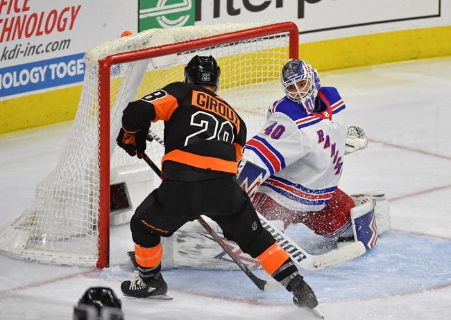 New York Rangers vs. Philadelphia Flyers - 3/1/20 NHL Pick, Odds, and Prediction