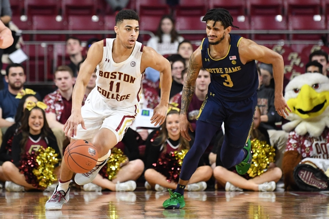 Notre Dame vs. Boston College - 3/11/20 College Basketball Pick, Odds, and Prediction